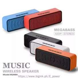 Speaker Bluetooth portable M268A Mega Bass