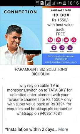 Tata sky connection