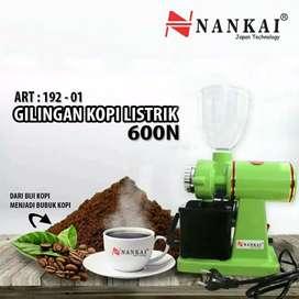 Mesin Gilingan Kopi Listrik Hijau NANKAI 600 N Electric Grinder