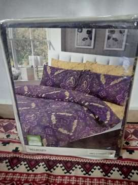 Ideas double  quilt cover set, double bed sheet, 4 pillow covers