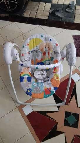 Bouncher Ayunan bayi ayunan elektrik ayunan batrai