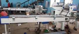 Mesin Horizontal Packaging untuk Roti, Pie, Pia, Bihun, Biskuit, Bolu