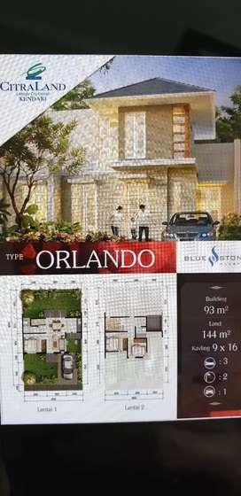 Rumah dijual di kawasan Citra Land Kendari