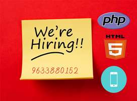 Developer: PHP/HTML
