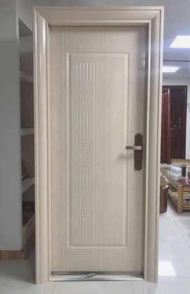 Pintu plat baja minimalis anti rayap anti maling pintu modern klasik