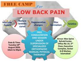 Physiotherapy live pain free