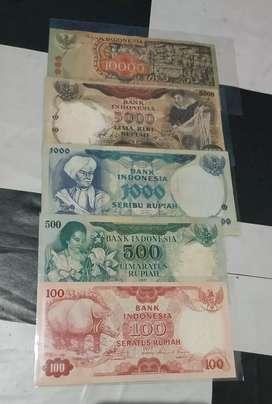 Uang seri tahun 70 an