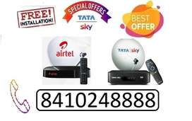 DISH TV TATA SKY AND AIRTEL NEW MULTI DTH CONNECTION BEST IPL OFFER