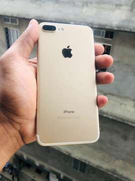 I phone 7 plus 32gb at new condiction