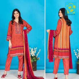 Lawn 3 pc With Lawn dupaatta