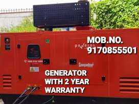 SUPER SILENT LOW FUEL CONSUMPTION GENERATORS WITH 2 YEAR WARRANTY