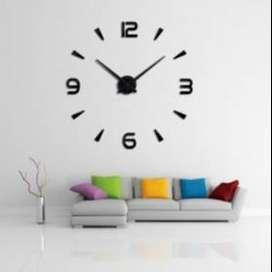 Jam Dinding Besar DIY 104 Giant Wall Clock Quartz 80-130cm