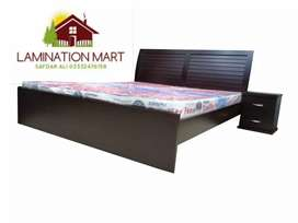 Discount price bed and side table lamination