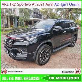 Fortuner VRZ TRD Sportivo At 2021 awal AD Tgn1 Bisa Kredit
