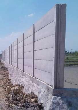 Pagar precast/ beton