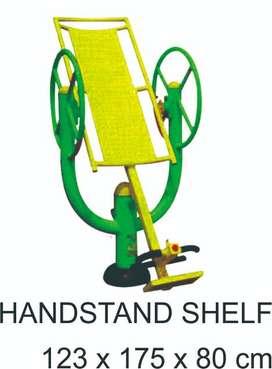 Alat Fitness Outdoor Handstand Shelf Garansi 1 Tahun