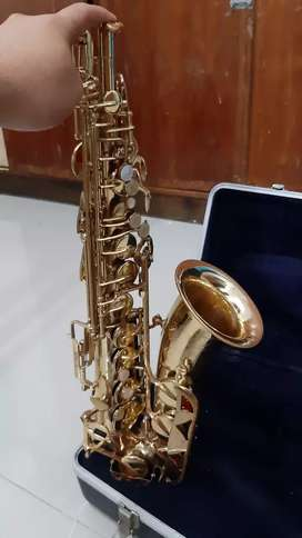 Saxophone alto conn flower USA