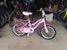 Girls bicycle 16T suitable for 4 to 7 years old kids