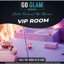 VIP big roome soapy spa services