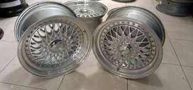 velg second ring 15 bbs rs lebar 7/8 hole8x100-114,3 smf