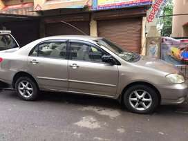 Toyoto Corolla 2005 CNG registered