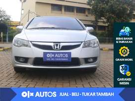 [OLX Autos] Honda Civic FD1 1.8 A/T 2010 Abu-abu