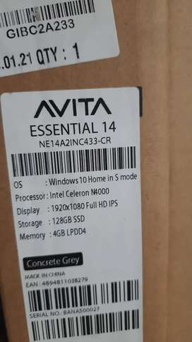 Brandnew LAPTOP with SSD 100Nos @ 18800