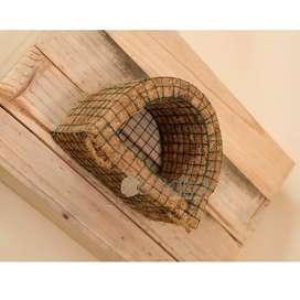 Pot anggrek sabut kelapa