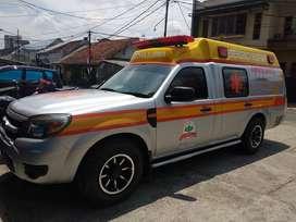 Ambulan Branding Stiker Mobil Mangele Premium Sticker rumah sakit Rapi