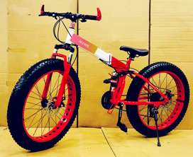 New Fat foldable cycle with 21 gears