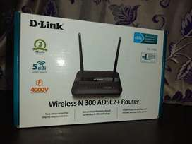 Wireless N 300 ADSL2+Router