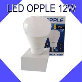 LAMPU LED OPPLE 12W WH 6500K