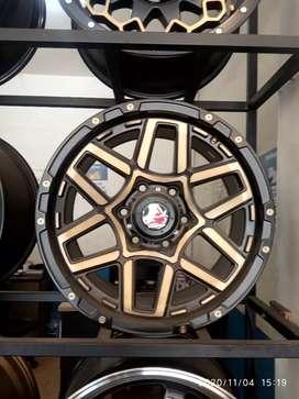 Velg mobil bisa untuk Pajero Navara Fortuner R17x9.0 h6x139.7 et12
