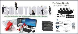 Provided Networking, Server, CCTV, Retail Managment Solutions, Barcode
