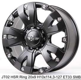 free ongkir JT02 HSR R20X9 H10X114,3-127 ET33 SMB