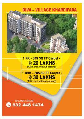 Flats for sale diva khardipada