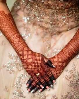 Mehendi artist for brides