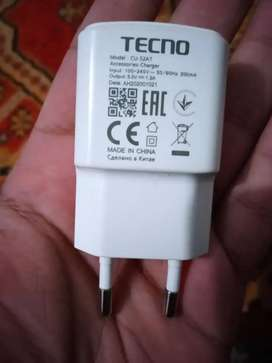 Tecno mobile origanal charger