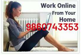 Here we have online data entry job for you, work from home/
