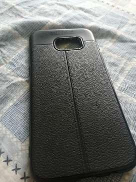 Samsaug S7 edge leather finished case