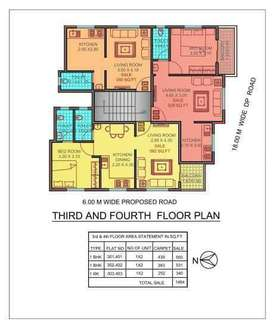 lavish 2bhk flats for sale near dudulgaon(alandi) at 3500000 rs only