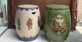 Tempat duduk keramik