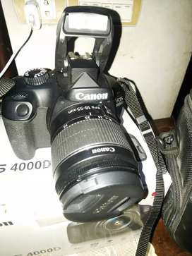 Canon 4000D(wifi)  with 16 gb card condition 10/10