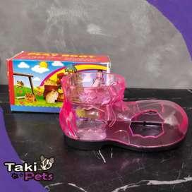 Sweet boot aksesores aquarium atau tempat main hamster