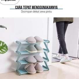 Rak Sepatu 4 Susun - Shoe Rack