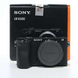 Kredit Kamera Sony a6500 Body Only Free 1x Cicilan
