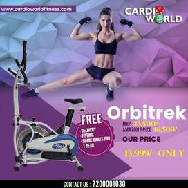 Cardio World Exercise Bike  with 130 Kg User Weight