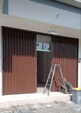 Rolling door folding gate murah 015