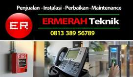Jual Security, fire, alarm, Cctv, PABX , akses kontrol, finger print