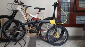 Sepeda Lipat Element Ecosmo Z9 Bike To Work (B2W) - Full Upgrade
